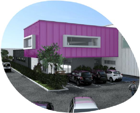 Synoxis, nouvelle usine