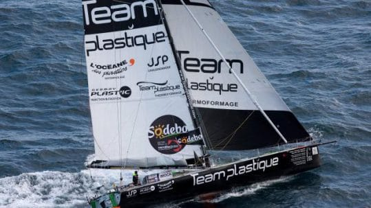 team plastique, vendée globe, synoxis, jsp, jouin solutions plastiques, sponsor
