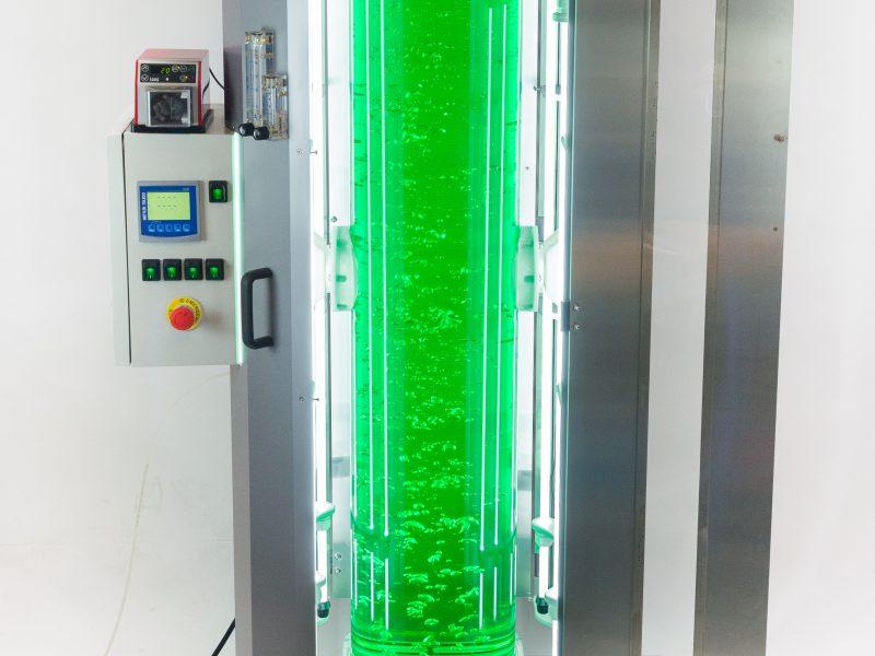 recherche, laboratoire, industrie, synoxis, synoxis algae, plastique, plasturgie, photobioreactor
