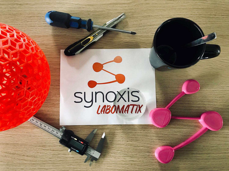 Labomatix Synoxis concepteur d'ensemble plastique