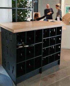 mobilier urbain résistant